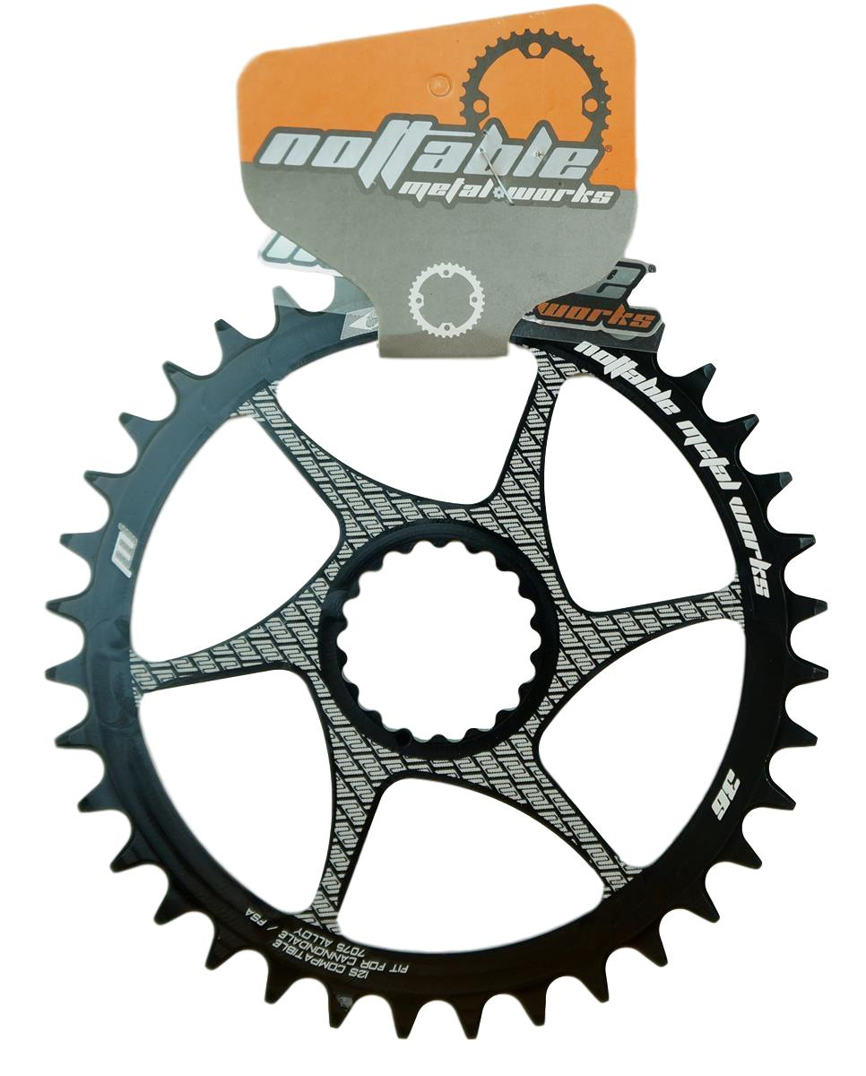 Coroa Bicicleta Nottable Cannondale Hollowgram 34 36 dentes Direct Mount 3mm Off Set Boost Para Uso 1x11 1x12