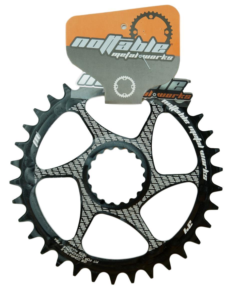 Coroa Bicicleta Nottable Cannondale Hollowgram 34 36 dentes Direct Mount 6mm Off Set Para Uso 1x11 1x12