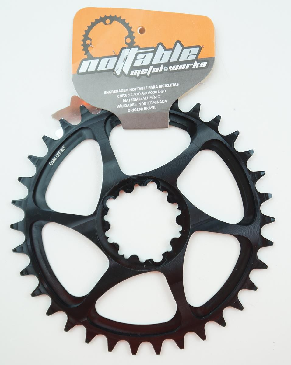 Coroa Bicicleta Nottable para Sram BB30 30 32 34 36 38 dentes Direct Mount Para Uso 1x11 12v 0mm Offset