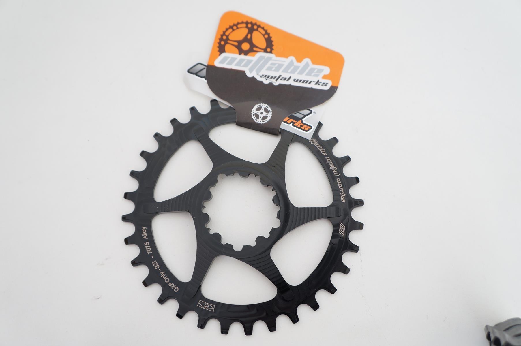 Coroa Bicicleta Nottable para Sram GXP 32t Direct Mount 6mm Off Set Para Uso 1x11