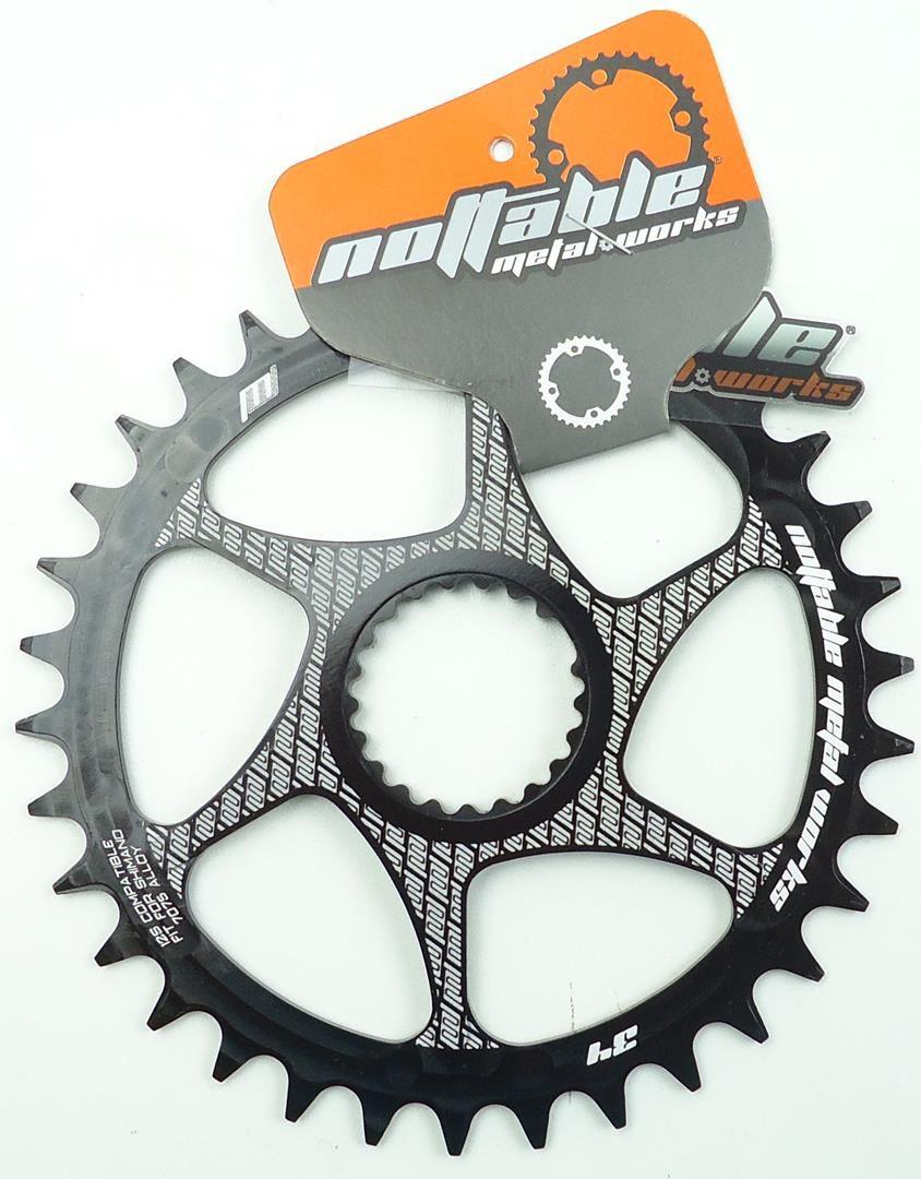 Coroa Unica Bicicleta Nottable Shimano XT XTR 12v 32 34 36 38 dentes Direct Mount 3mm Off Set 12 velocidades
