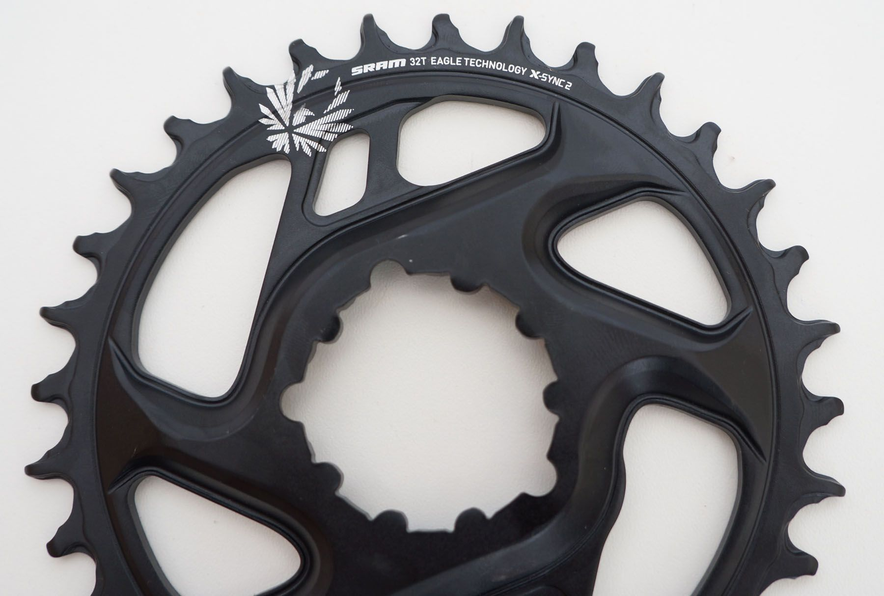 Coroa Bicicleta Sram GX Eagle 32t Preta Para Uso 1x12 Off set 6mm