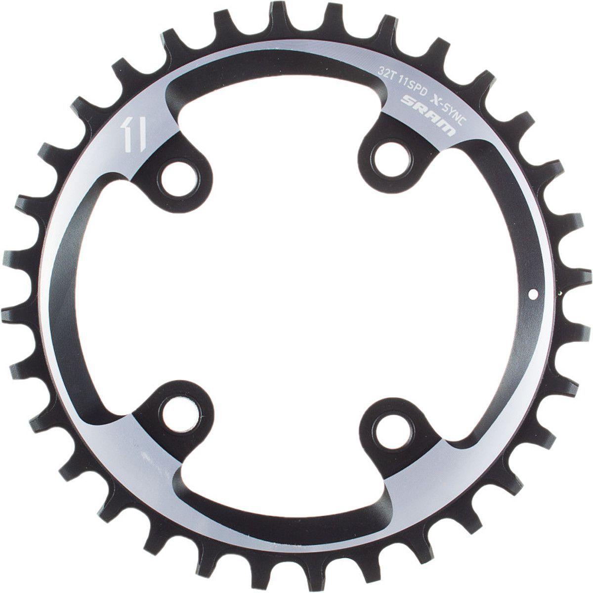 Coroa Bicicleta Sram Xx1 32t Bcd 76mm X-sync Para Uso 1x11