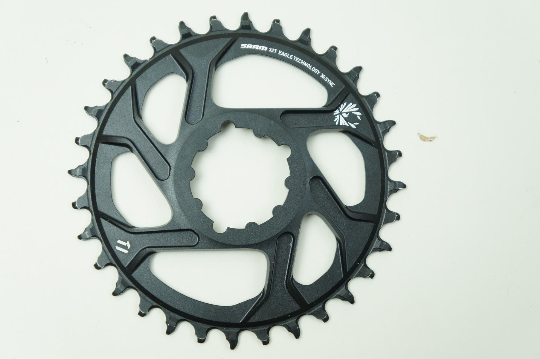 Coroa Bicicleta Sram Xx1 Eagle 32t Preta Para Uso 1x12 GX X01 Eagle