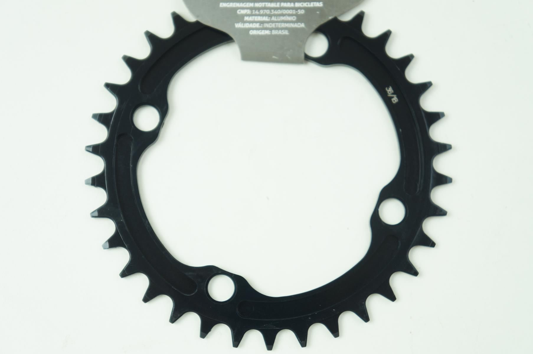 Coroa Unica Mtb Nottable 30 32 34 36 38 dentes Bcd 104mm Narrow wide Serve em Sram Shimano Race Face
