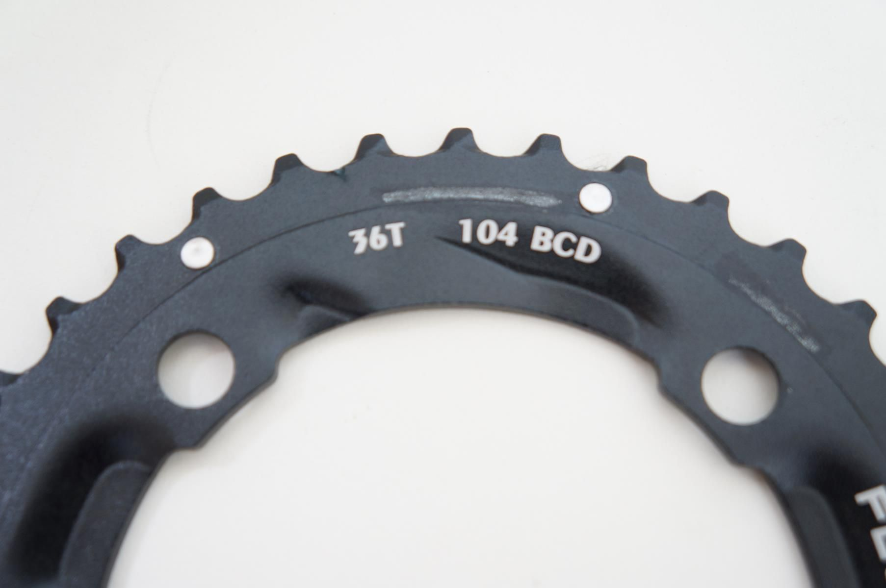 Coroa Dupla Mtb Sunrace 36 dentes 2x10 Bcd 104mm em Aluminio Serve para Shimano