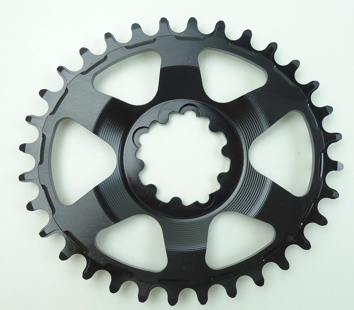Coroa Oval Bicicleta Session para Sram 32 34T Direct Mount 6mm Off Set Para Uso 1x11 12v