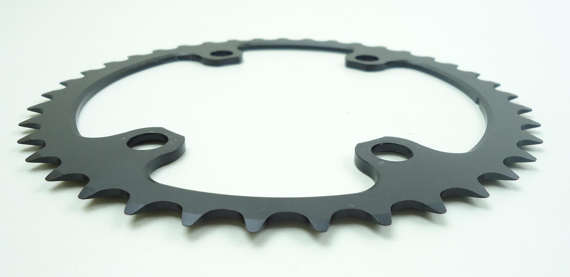 Coroa Speed Vicinitech 39 dentes 4 furos Bcd 110 11 Velocidades p/ Shimano 105 5800 R7000 Ultegra 6800 R8000
