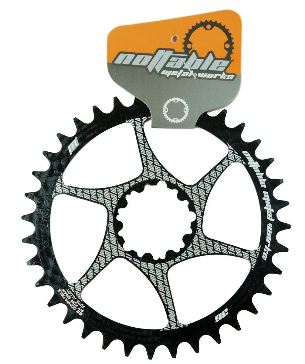 Coroa Unica Bicicleta Nottable Sram 32 34 36 38 dentes Direct Mount 3mm Off Set Boost Para Uso 1x11 1x12