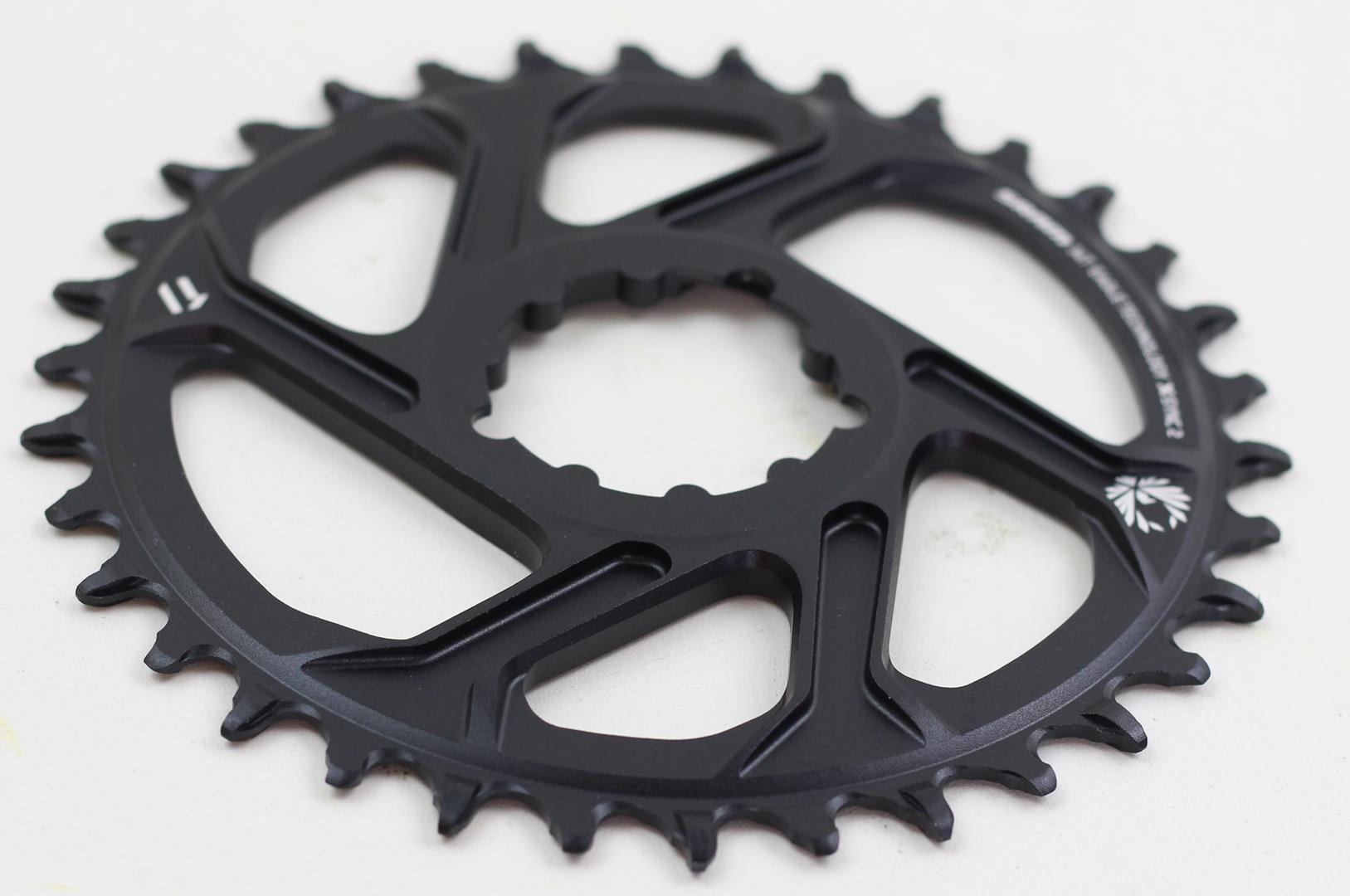 Coroa Unica Bicicleta Sram XX1 Eagle 34 dentes Offset 3mm Boost Para Uso 1x12 GX X01