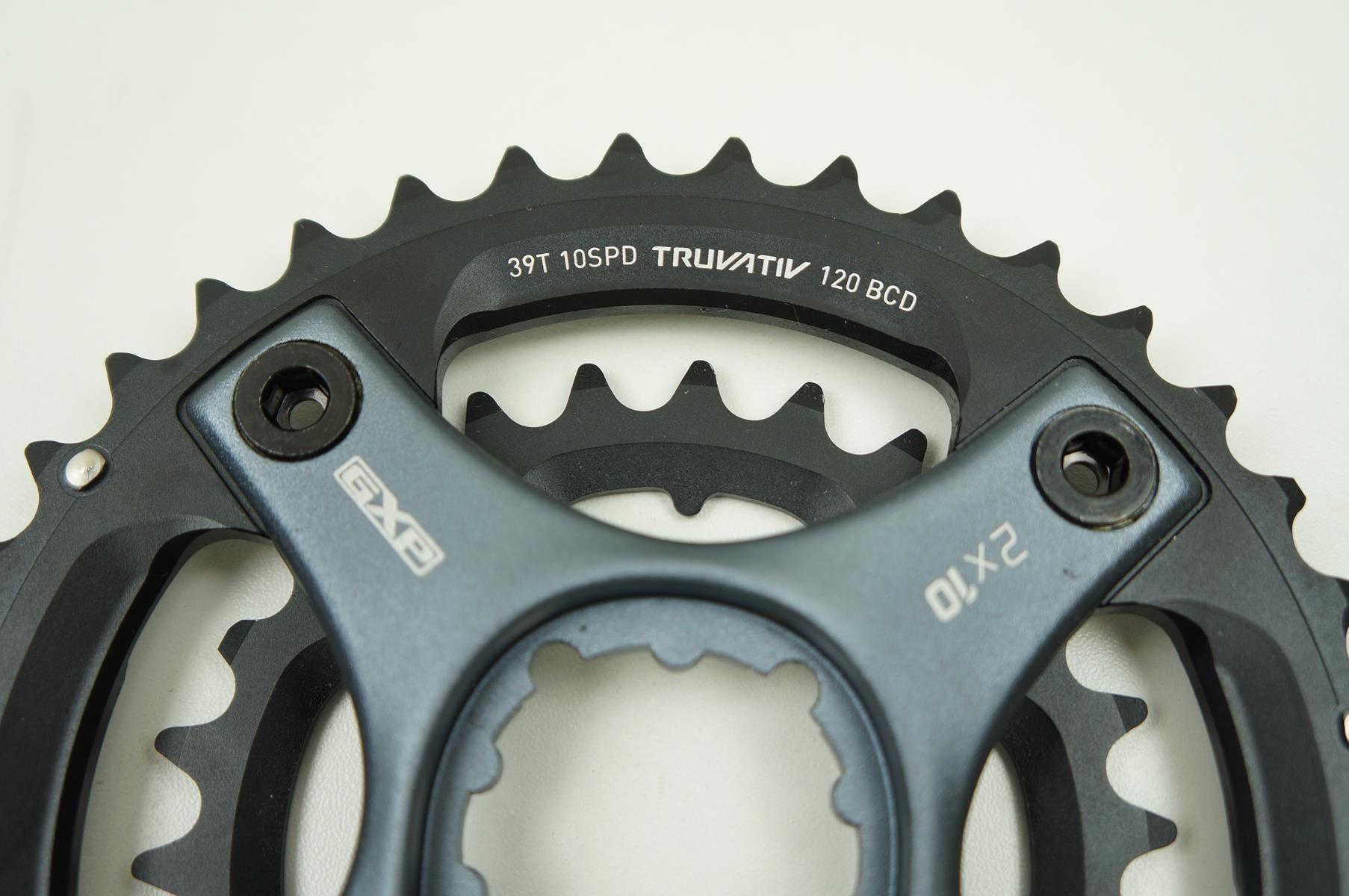 Coroas Mtb Sram Truvativ 39 E 26t 2x10 Bcd 120 80mm com Spider