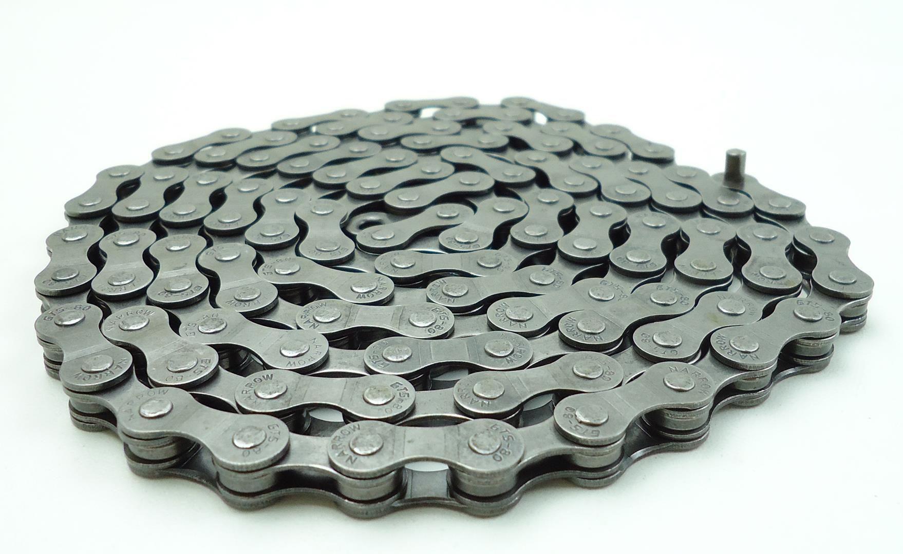 Corrente Bicicleta GTS 6-7-8 velocidades 116 Elos Indexada Serve em Shimano Sram 18-21-24 marchas