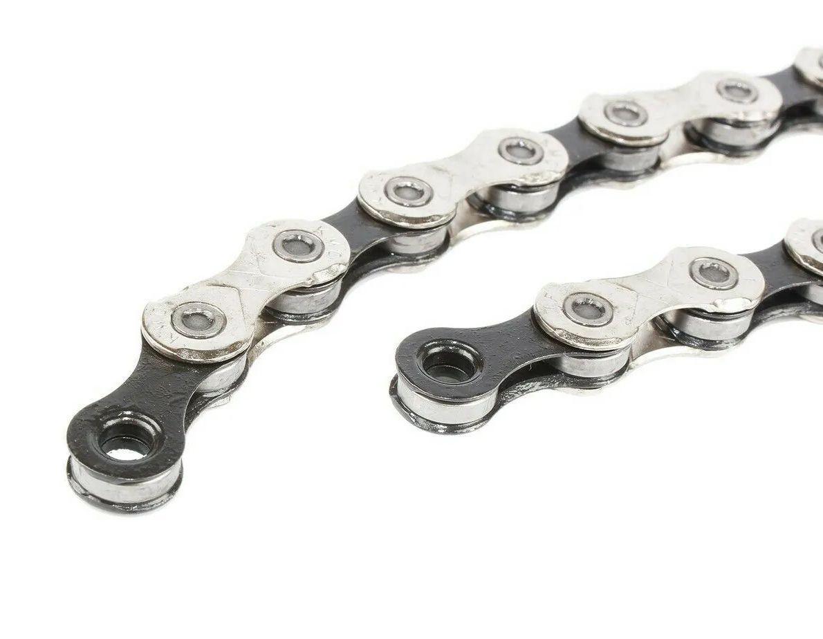 Corrente Bicicleta Kmc X11 Prata 11 Velocidades 116 Links X11.93 com Missing Link Sem caixa