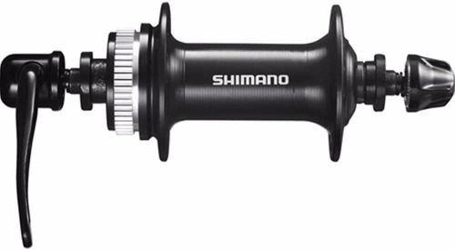 Cubo Dianteiro Shimano TX505 32 Furos Freios à Disco Center Lock com Blocagem