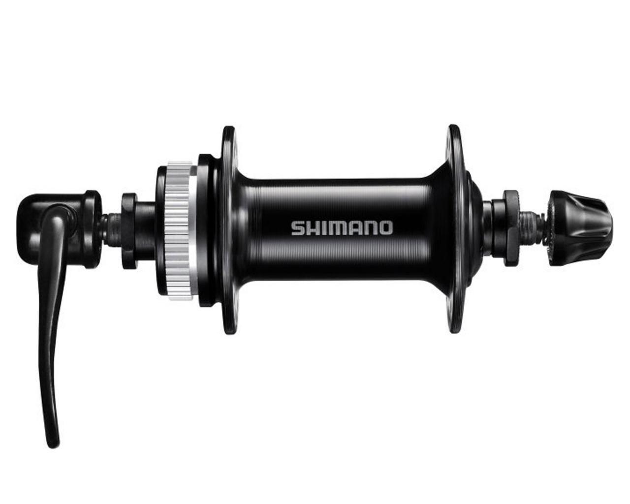 Cubo Dianteiro Shimano TX505 36 Furos Freios à Disco Center Lock com Blocagem