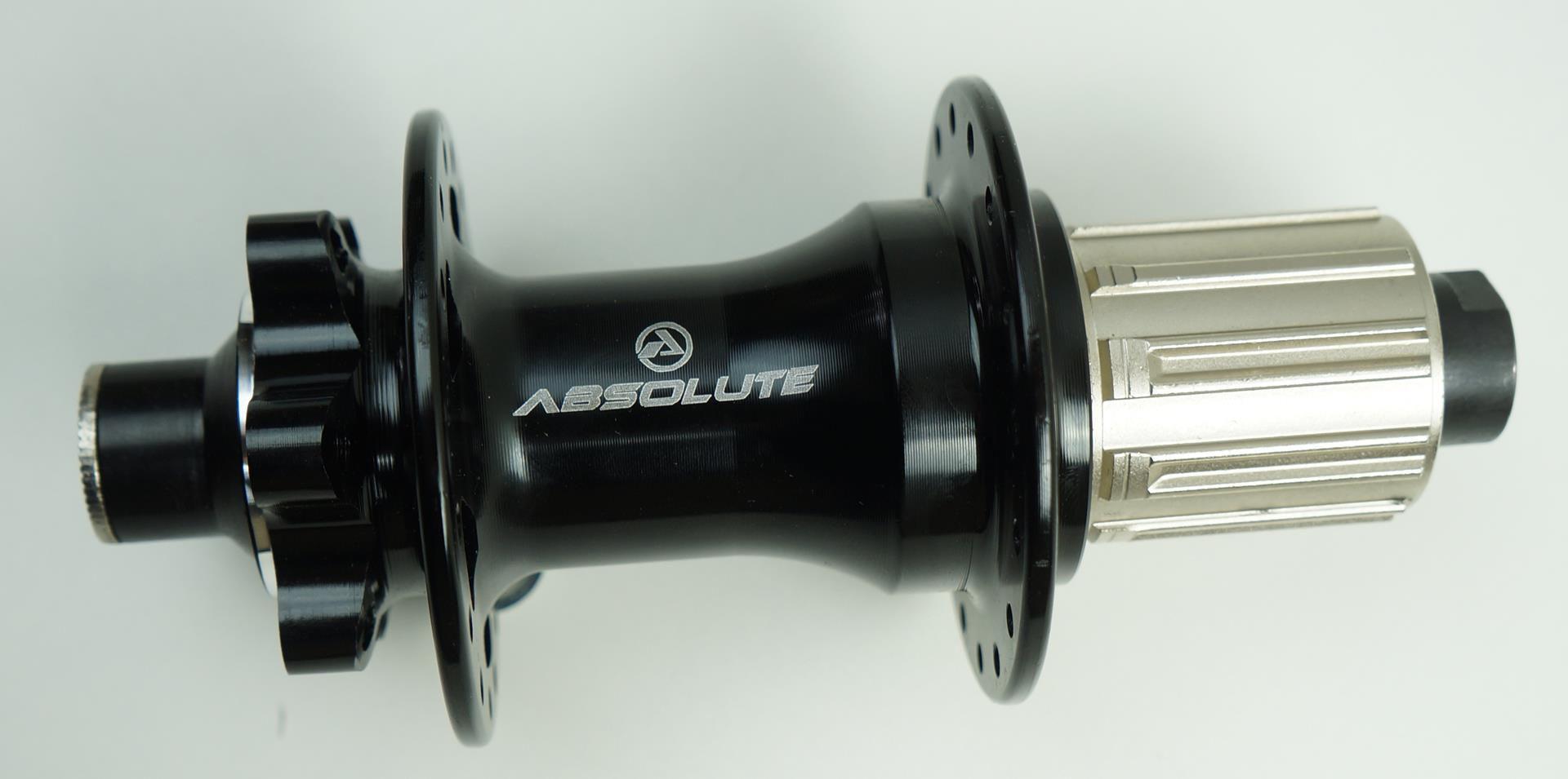 Cubo Traseiro Absolute Prime 142 x 12mm 32 Furos com Rolamentos Eixo Passante