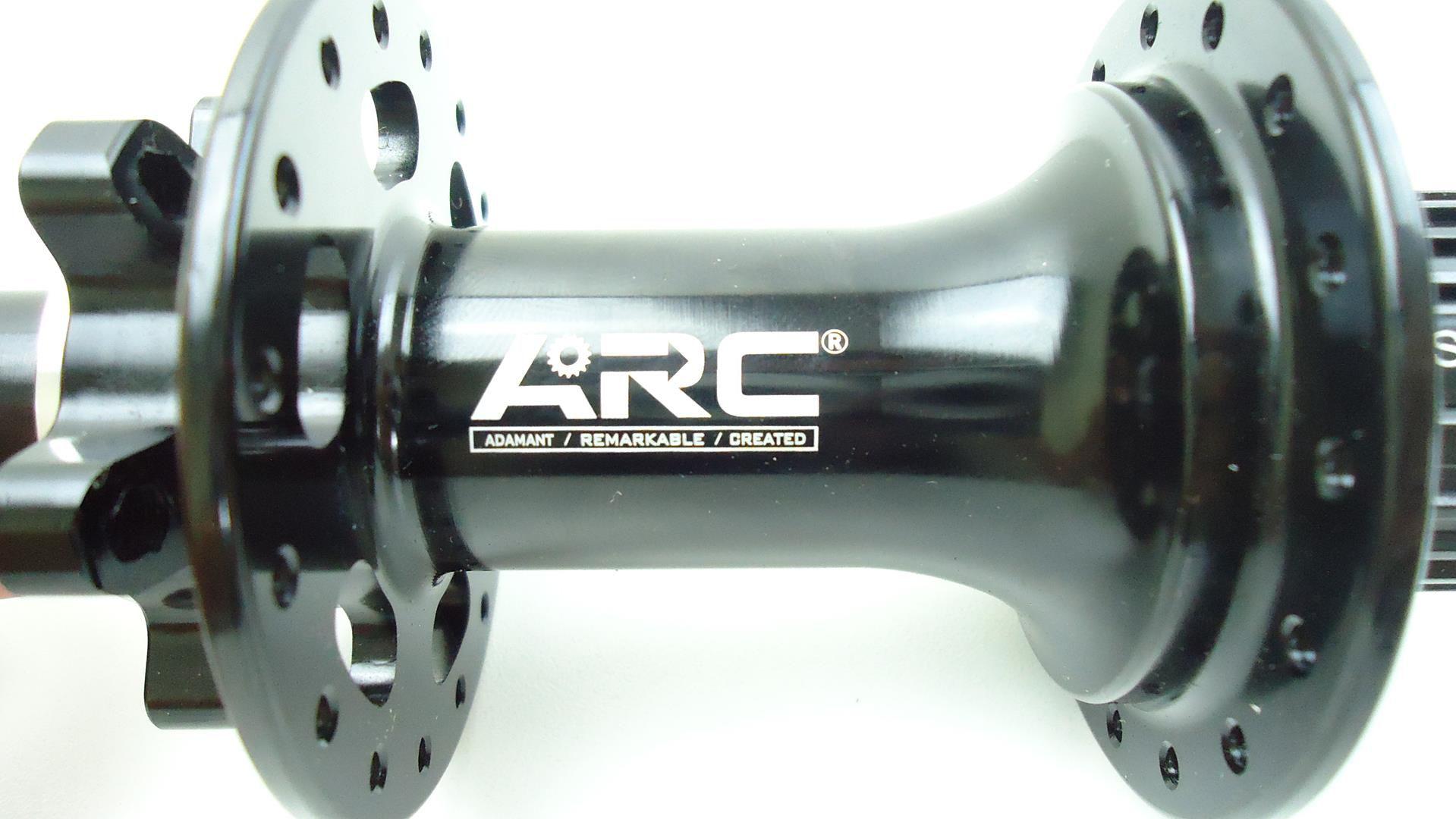 Cubo Traseiro ARC Shimano 12 velocidades Micro Spline 32 Furos Eixo 148mm Boost p/ SLX M7100 XT M8100 XTR M9100