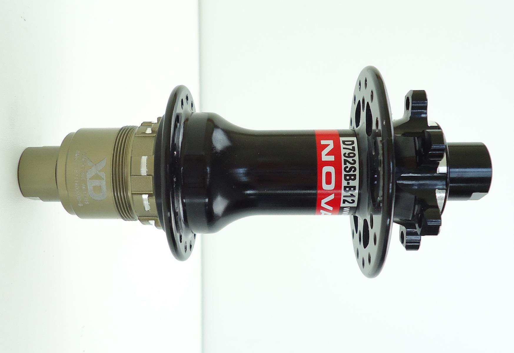 Cubo Traseiro Novatec D792sb Sram XD Eixo 148x12mm Boost 32 Furos