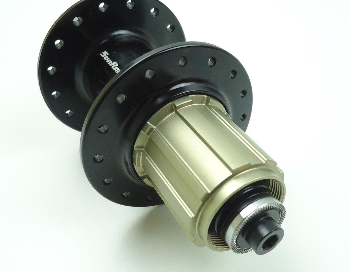 Cubo Traseiro Sunrace MX90 135 x 10mm 32 Furos com Rolamentos Para Cassetes Sunrace 10-50