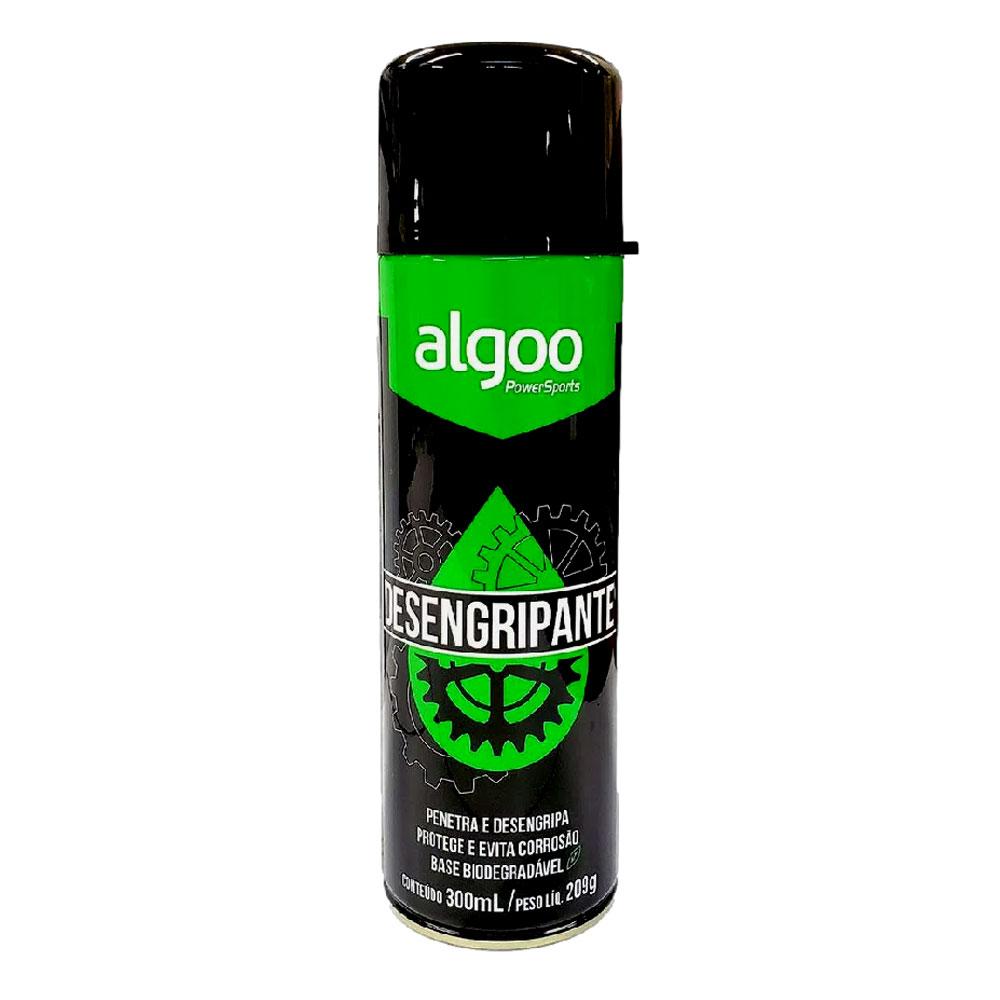 Desengripante Óleo Spray Algoo Biodegradável 300ml para Limpeza Bicicletas