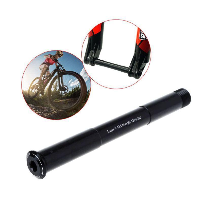 Eixo 15mm Passante Blocagem para Suspensões Rock Shox 15x110mm Boost