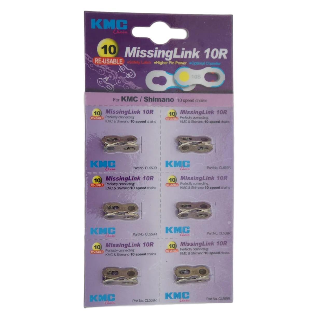 Elo mestre Missing Link KMC powerlink corrente 10v com 6 unidades