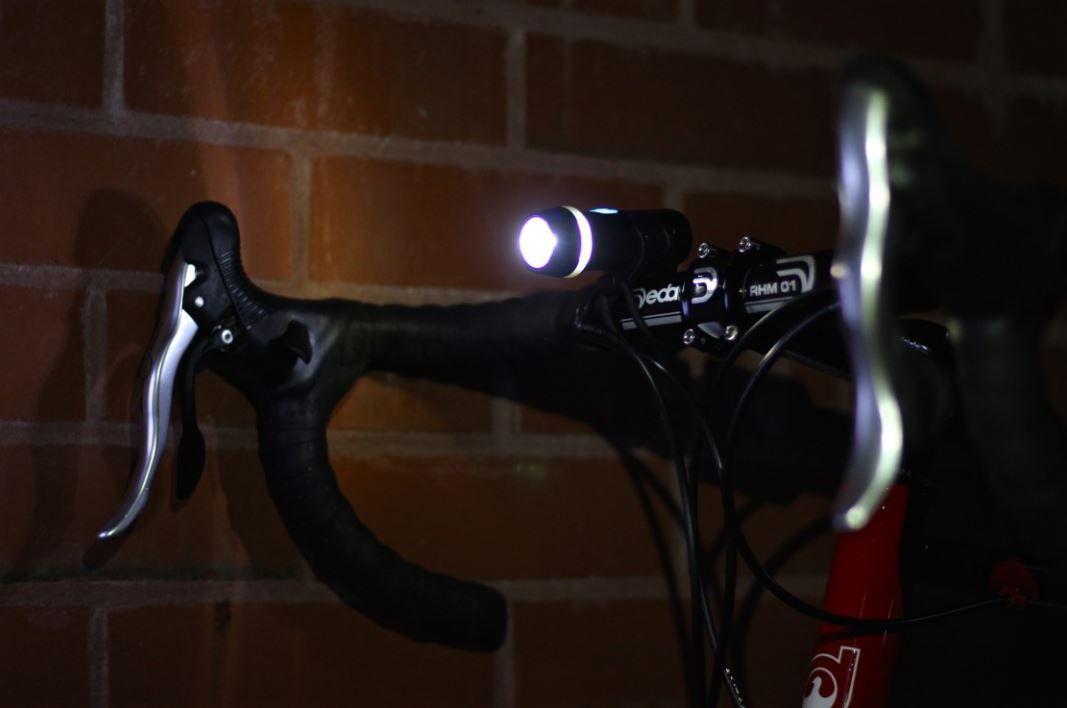Farol Dianteiro Bicicleta Ribble Led 300 Lúmens Preto Recarregável