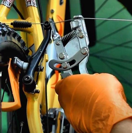 Ferramenta Alicate Bike Hand YC-766 Esticador de Cabo de Aço para Marchas e Freios