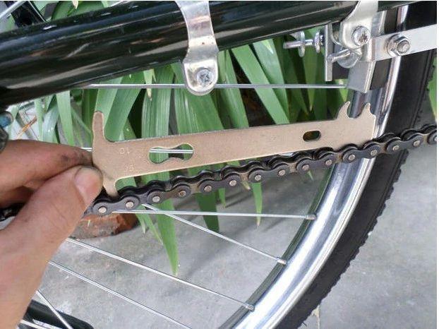 Ferramenta Medidor De Desgaste Para Correntes Bicicletas Serve Shimano Sram KMC