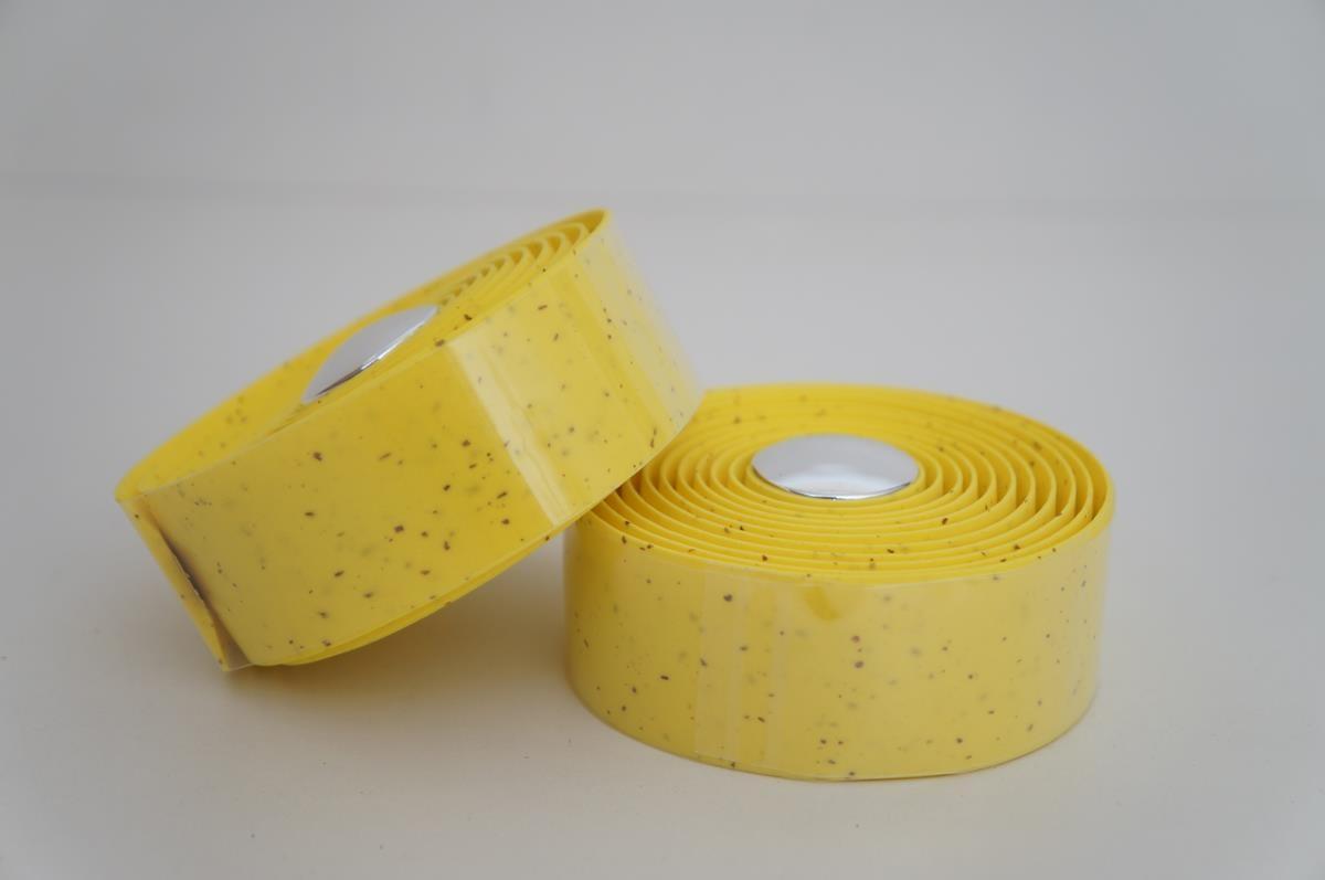 Fita Para Guidão Bicicleta Speed Velo Wrap 2mm Amarelo