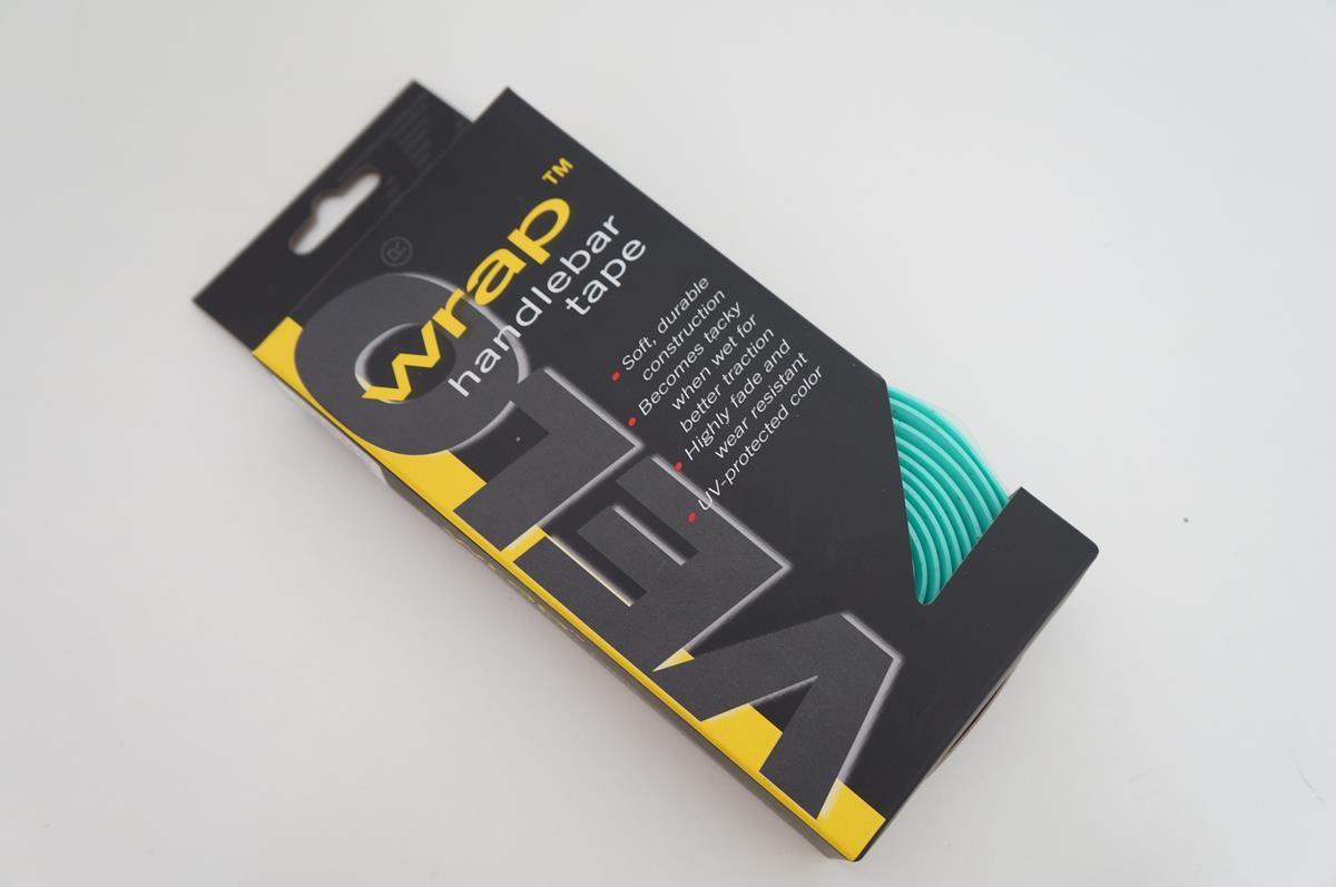 Fita de Guidão para Bicicleta Road Speed Velo Wrap 2mm Cor Verde Claro