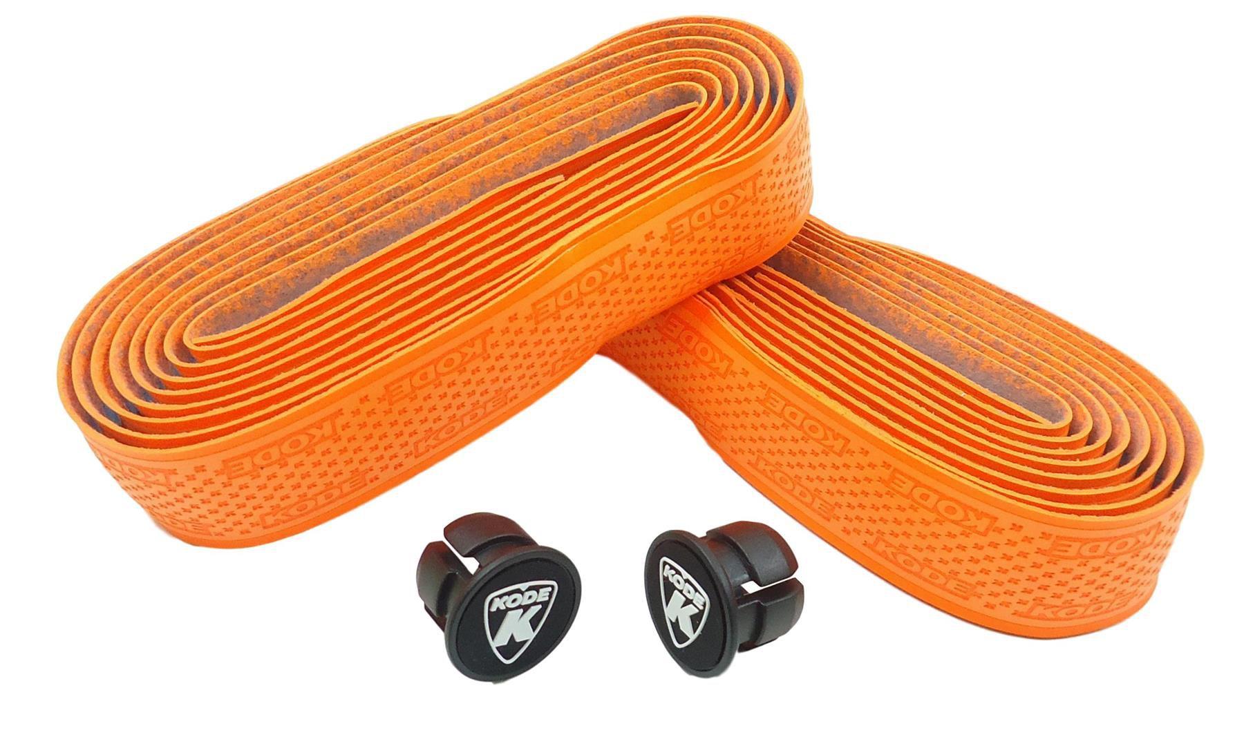 Fita para Guidão Bicicletas Speed Kode 3mm Cor Laranja Fluorecente Extra Confort