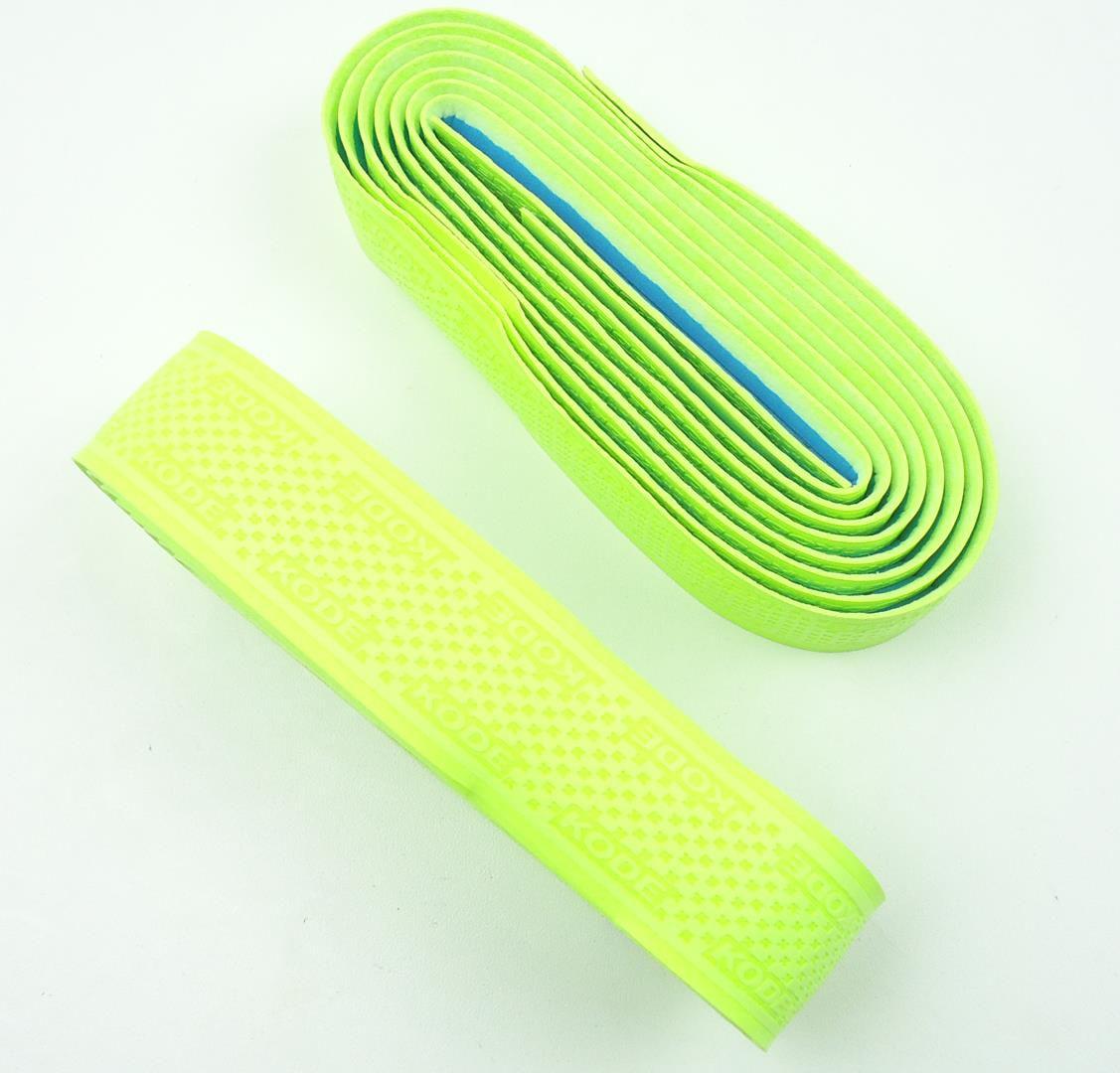 Fita para Guidão Bicicletas Speed Kode 3mm Cor Verde Fluorecente Extra Confort