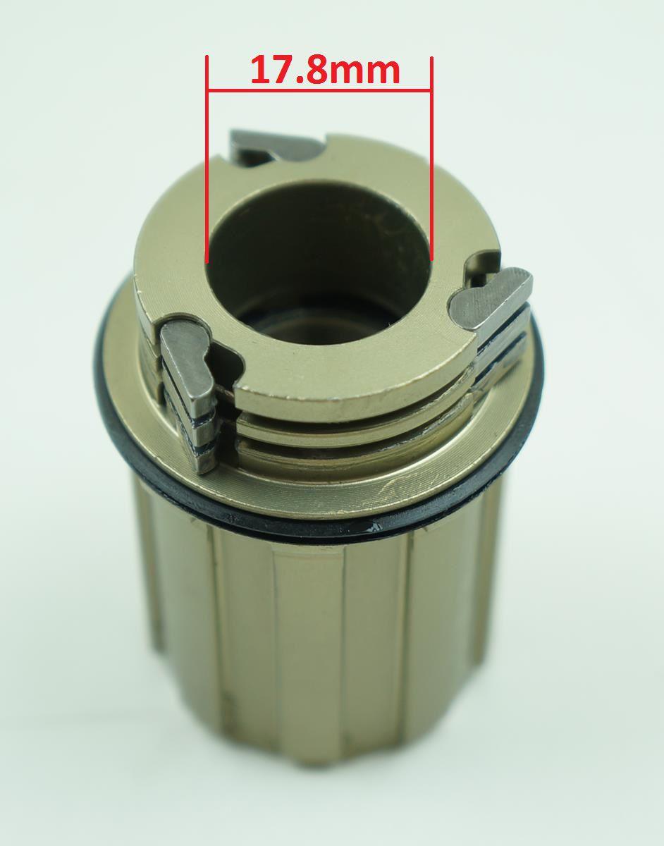 Freehub Cubo Vicinitech XM1600 para Cassetes Shimano 8-9-10-11 velocidades