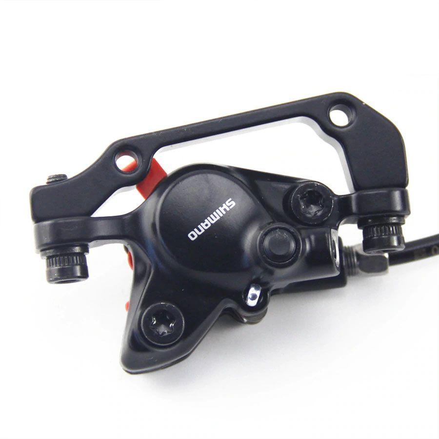 Freios À Disco Hidraulico Shimano Altus MT200 Preto Dianteiro 800mm e Traseiro 1650mm