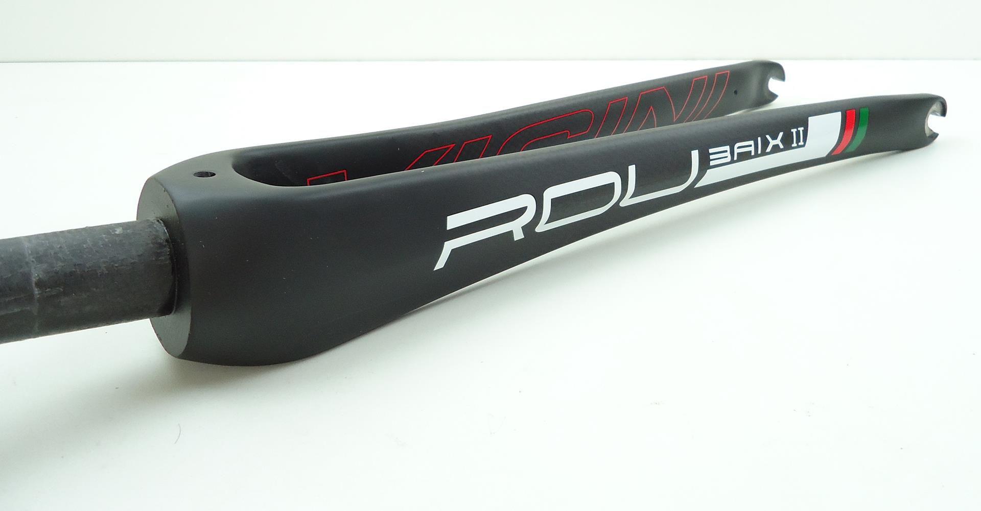 Garfo Bicicleta Speed Vicinitech Roubaix em Carbono Espiga Reta Aro 700