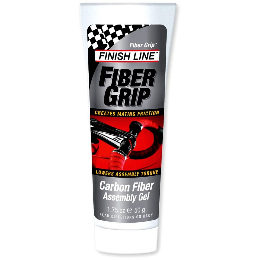 Graxa Atrito Finish Line Fiber Grip Para Aperto Carbono Aluminio Canotes 50 gramas