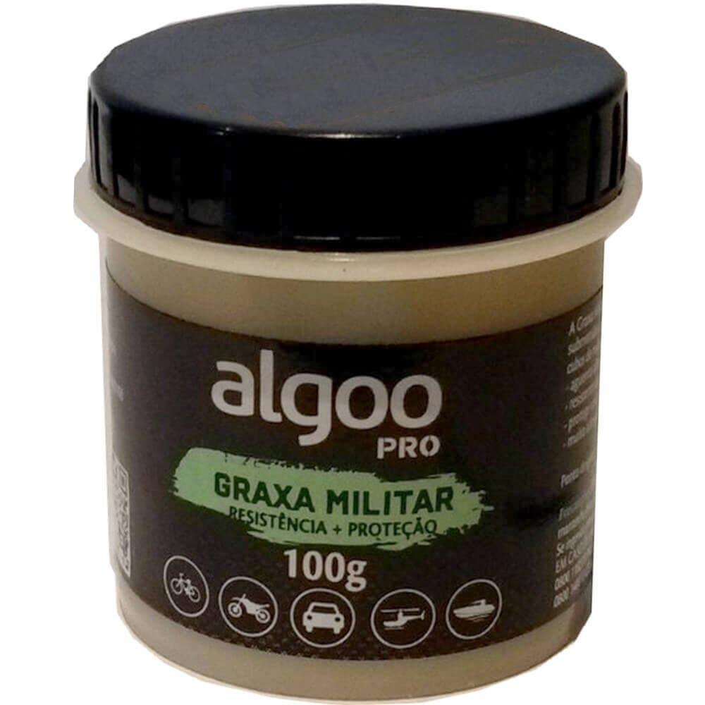 Graxa Militar Algoo Pro 100 gramas Resistência e Proteção para Suspensão Bicicletas