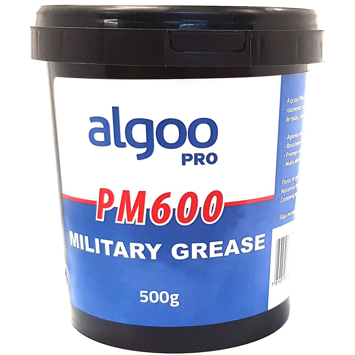 Graxa PM600 Military Grease Algoo Pro 500 gramas para Suspensão Bicicletas