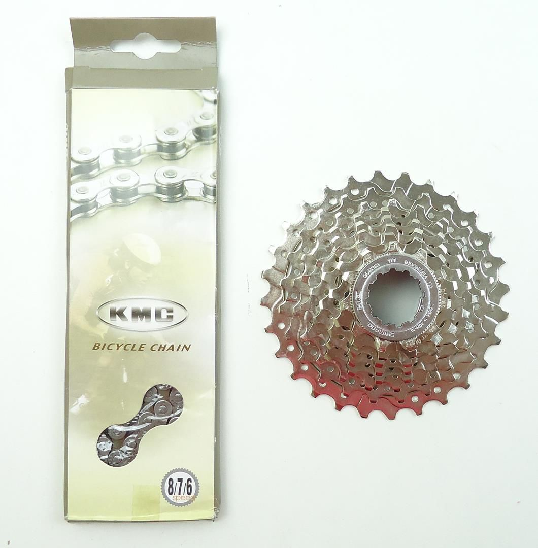 Grupo 6 peças para Bicicletas Speed Shimano Claris 11-28 Road 8 velocidades