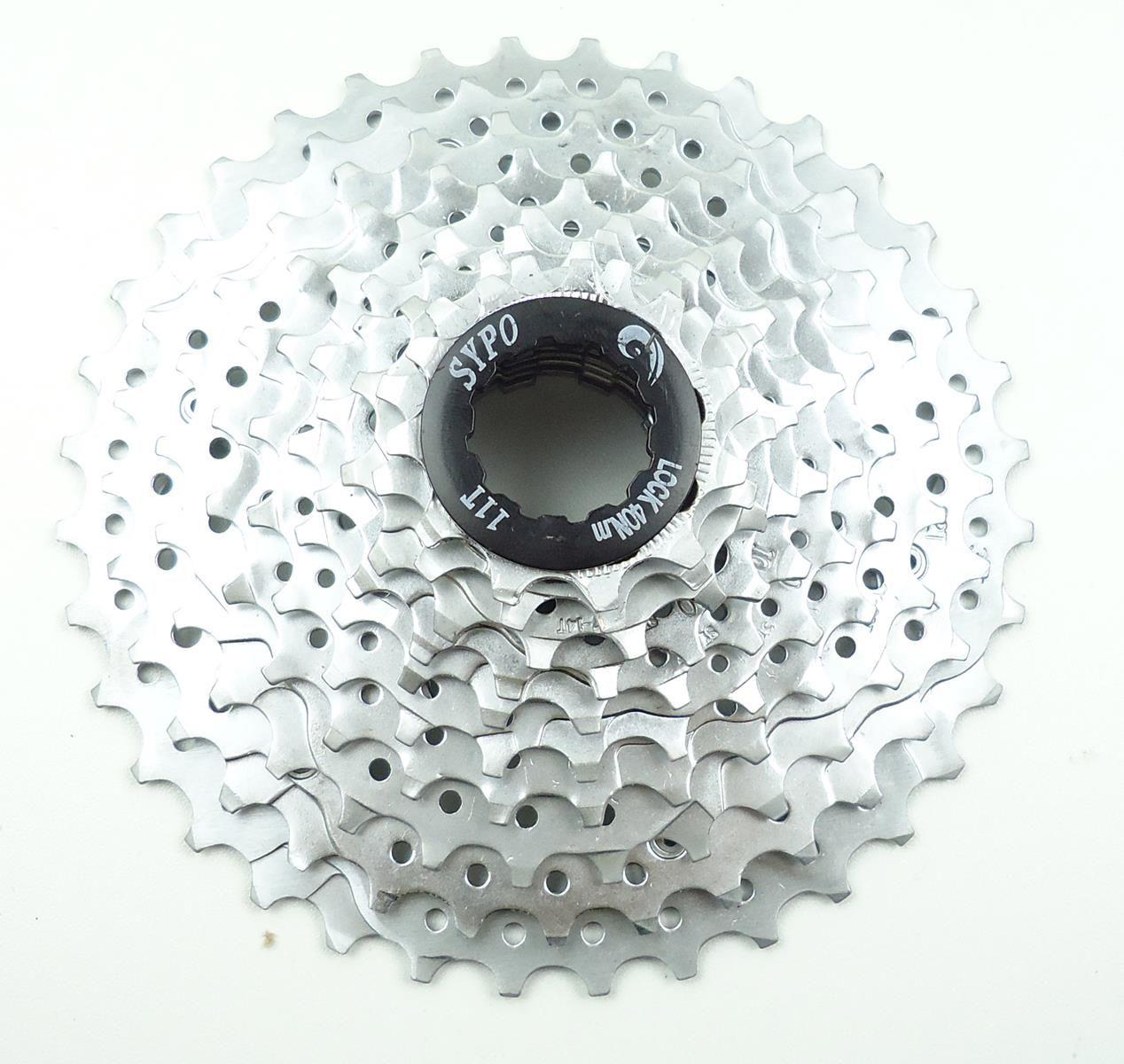 Grupo Bicicleta MTB Absolute RX10 4 peças 2x10v com Cambios Passadores Cassete 11-36 dentes p/ 10 velocidades