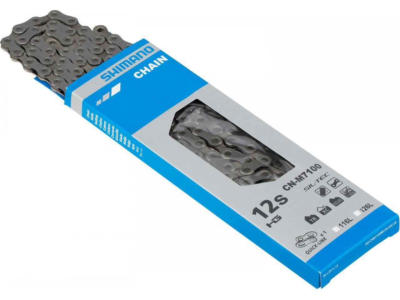 Grupo Shimano SLX M7100 4 Peças Cassete 10-51 12 velocidades 2019 Lançamento