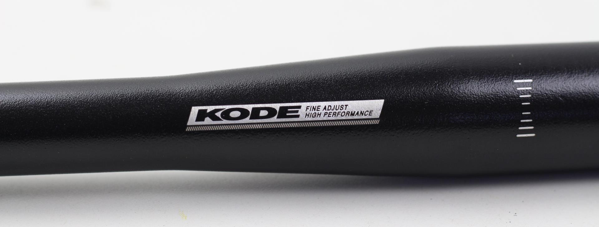 Guidão Bicicleta Mtb Kode em Alumínio 720mm 31.8mm Reto Flat Cor Preto 334 gramas
