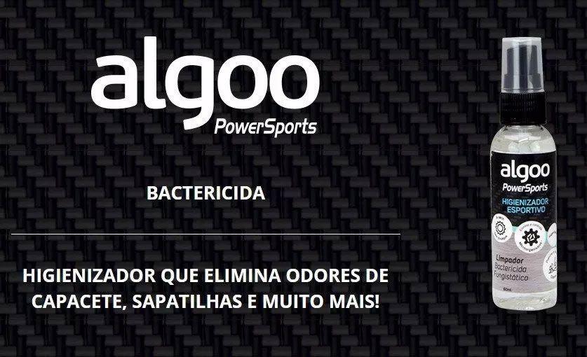 Limpador e Higienizador para Roupas e Artigos Esportivos Algoo Spray 60ml