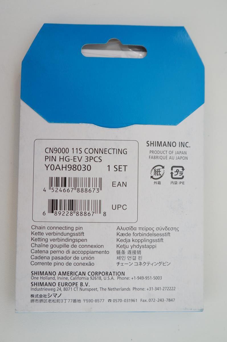 Jogos 3 Pinos Conectores para Correntes Shimano 11 velocidades HG-X11