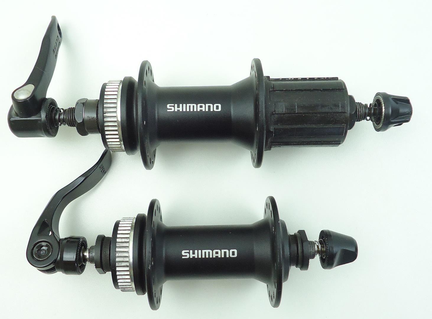 Kit Cubos Shimano Alivio M4050 Com Discos RT30 Centerlock e Cassete Sunrace 9v 11-40 dentes - USADO