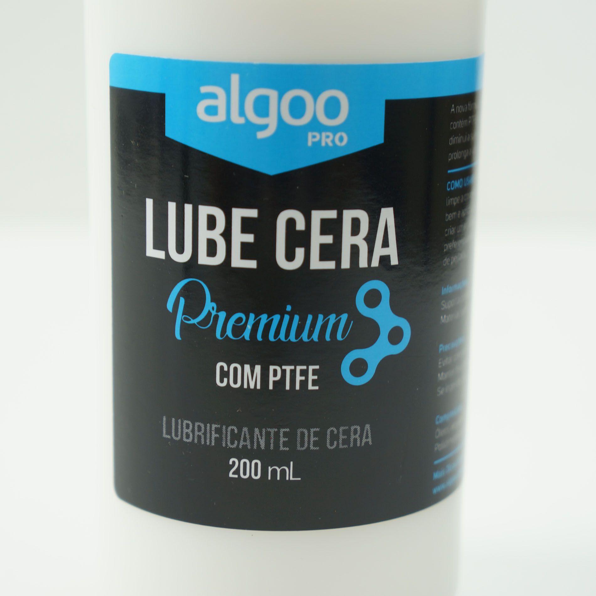 Kit de Limpeza Algoo para Bicicletas com Desengraxante Silicone Lubricante Limpa Disco e Shampoo Lava Bikes