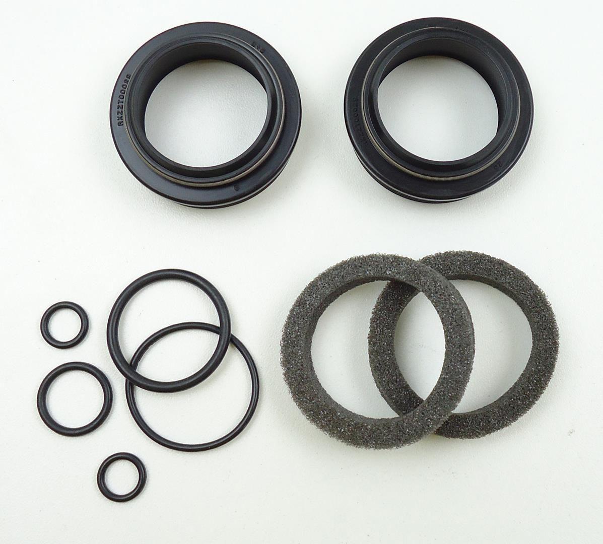 Kit De Retentores Compatíveis Para Suspensões Fox Rock Shox Reba Sid Manitou 32mm