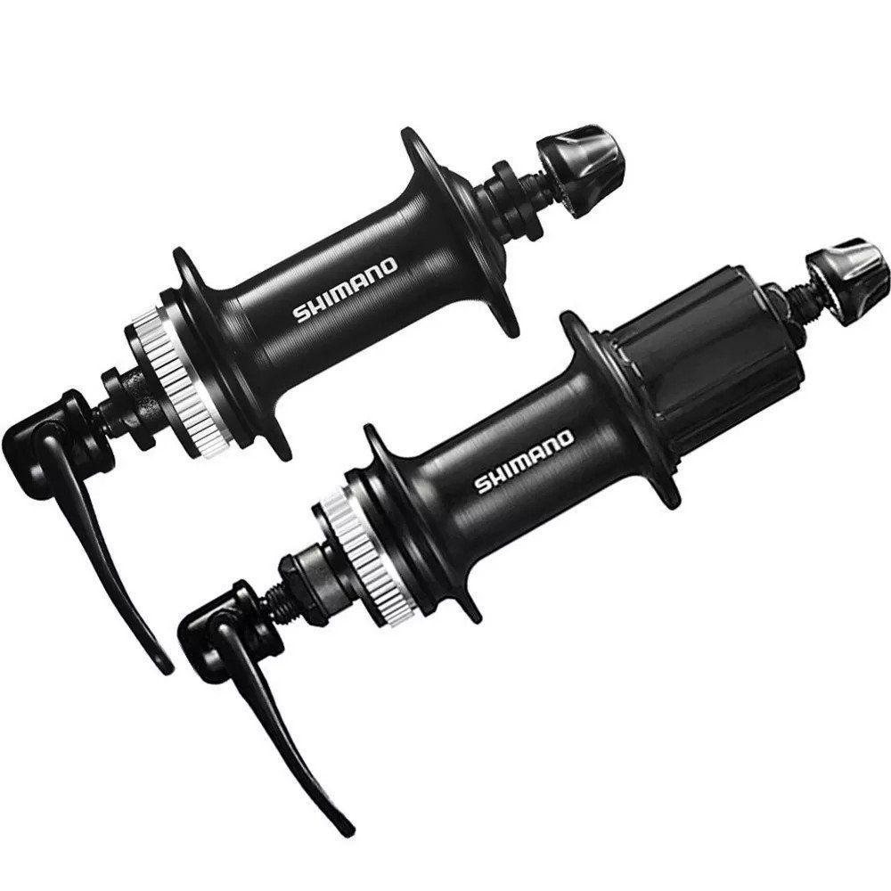 Kit Freio à Disco Shimano Tx805 + Discos Rotores Rt30 160mm e Par de Cubos TX505 Centerlock
