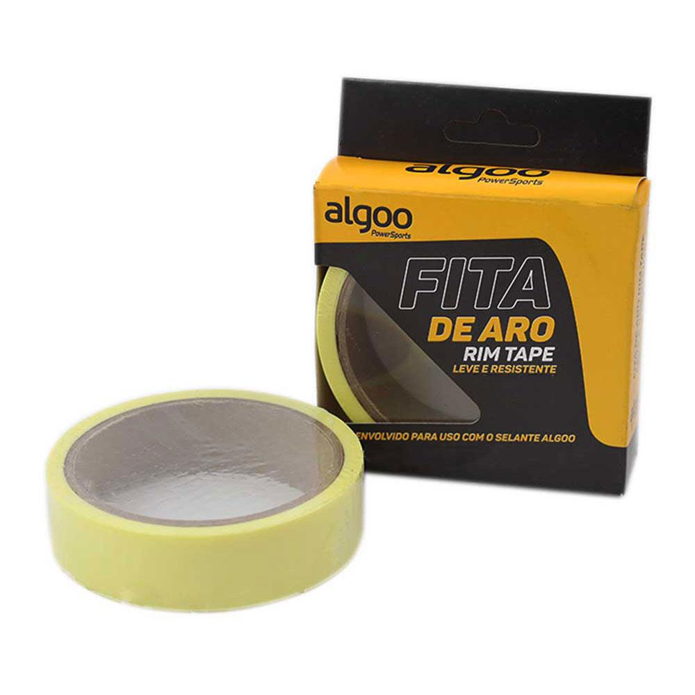 Kit Tubeless Algoo Com Fita 21mm - Liquido Selante 250ml e Bicos p/ Pneus Sem Câmara 26 27.5 29